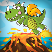 Baby Dragon Island Escape ULTRA - The Tiny Jurassic Pet Animal Game for Kids