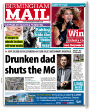 Birmingham Mail Newspaper for iPad