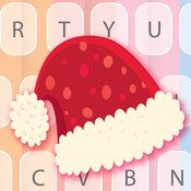 Merry Christmas & Happy New Year Keyboard Themes – Keyboard cute design for New Year Eve 2015