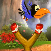 Bird Shooter: Use Slingshot to Hunt Bird in Flappy Forest