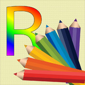 WriteRainbow-Draw and write in rainbow color