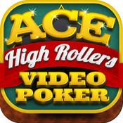 Ace High Rollers Video Poker Casino - Free Jacks or Better, Deuces Wild, and Joker Poker Games