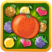 Fruit Crush Mania : Free match 3 games for slash , smash , pop and crush the fruits crush