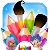 Great App for Bubble Guppies pages