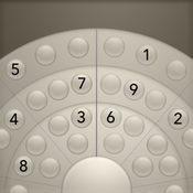 Roundoku Black - The Better Sudoku - A Round Experience