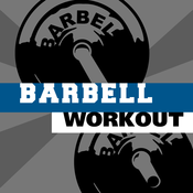 Barbell workout - training hiit wod & exercises trainer for abs arm leg PRO captain barbell