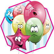 Princess Baloon Party - A balloon pop and birthday party decoration game party
