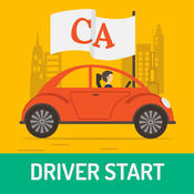 California Driver Start - prepare for the California DMV knowledge test, easy way to practice and get your Cali Driver License