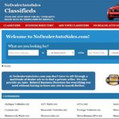 No Dealer Auto Sales usa auto sales