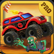 A Monster Truck Race Pro hill climb racing