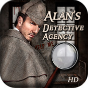 Alan`s Detective Agency HD - hidden object puzzle game