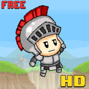 Royal Knight Kid Quest HD - A Costume Castle Revolt in Dungeon Wind-Up Village 2