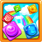 Crazy Candy : The case fun crazy Matching link game