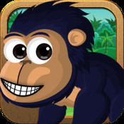 A Jumping Monkey - Little Zoo Chimps Holiday Travel Story Pro Edition