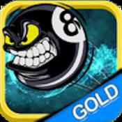 Super Magic 8 billiard ball - Gold Edition