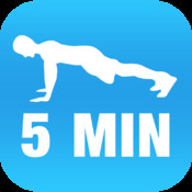 5 Minute Plank Calisthenics Challenge for Iron Abs: Full Fitness : exercise workout trainer and fitness buddy, home, on-the-go personal mobile fitness trainer, weight loss for Health