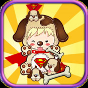 Flying Big Dog Pitbull: Roll my Super Dog to bones and Save him from hungry