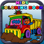 Kids Coloring Book - Color the Pic