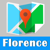 Florence offline map and gps city to go by Beetle Trip