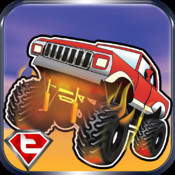 Awesome Offroad Monster Truck Legends Pro - Racing in Sahara Desert