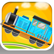 Train Builder - Train Simulator and hill climb racing Games for Kids