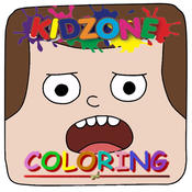 Colouring Page Kids For Clarence Edition