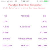 Extreme Random Number Generator