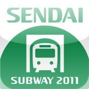 ekipedia Subway Map  Sendai 2011 (Subway Guide) subway surfers