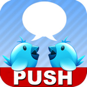 a Push twitter(customize twitter push)