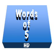 Words of 5 HD