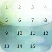 Number puzzle slider