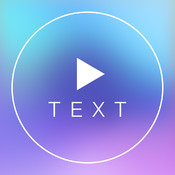 Text on Video Square FREE