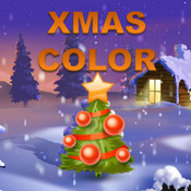Xmas Book Color: Draw, color and painting fun for kids and family holiday times