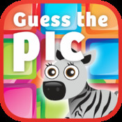 Guess the picture game – One of many cool new puzzle quiz guessing games where you guess the animal, food, image, word, and other pics! Have fun as you remove the tiles to reveal the pic and guess the brainteaser! Play this awesome app for free!