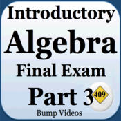 Introductory Algebra Final Exam Review Part 1