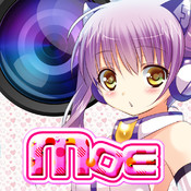 Moe Camera - Make Your Photos Moe-Style With Kawaii Cosplay Frames! - For Facebook,Twitter,Line and WeChat