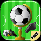 Kick an arsenal of balls and get the trophy to become a football super star! - Move and connect soccer fan puzzle game for kids and adults World Edition FREE super football clash
