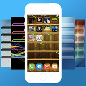 Colorful Themes - Custom Themes,Backgrounds & Wallpapers For iOS 7 display themes