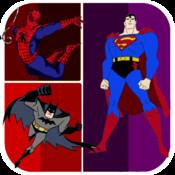 FB SuperHero Photo Quiz! Famous Film, Comic, Anime & Marvel Heroes Guessing Game Trivia for Kidz