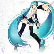 Wallpapers Miku Hatsune edition