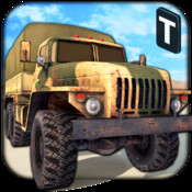 War Trucker 3D : Realistic Military Rescue Simulation