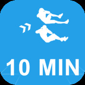 10 Minute Abs Calisthenics Challenge : Get your six pack with Full Fitness exercise workout trainer and fitness buddy, home, on-the-go personal mobile fitness trainer, weight loss for Health