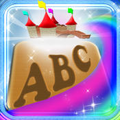 ABC Wood Alphabet Letters Magical Wood Puzzle Match Game