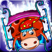 Animal Ski Race - Snowboard Safari Stunt On Ice Tracks (Free Game)