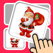 Christmas memo card match 3D - build up your brain with education training game