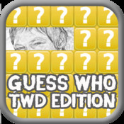 Guess Who - Pencilled Pic Walking Dead Edition walking dead