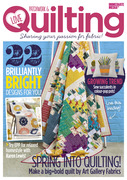 Love Patchwork & Quilting: the modern quilting magazine