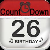 Countdown Reminder Pro - Birthday Event Count down + Reminder Alert Using Facebook. simple reminder program