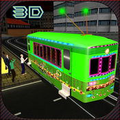 City Party Tram Driver Transport Simulator