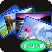 Best Nature Wallpapers & Backgrounds HD for iPhone and iPod: With Awesome Shelves & Frames